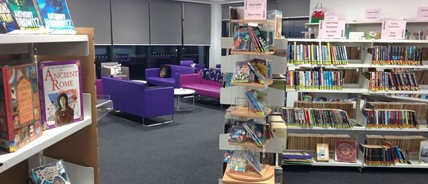 Sofas in Library
